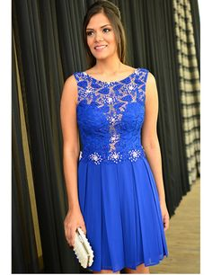 Sexy Prom Dress,Royal Blue Prom Dress,Short Evening Dress,Women Dress by…