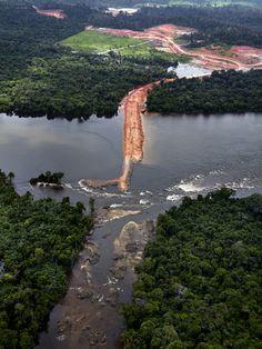 Fotos de obras de Belo Monte