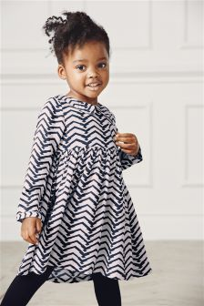 Chevron Dress (3mths-6yrs)
