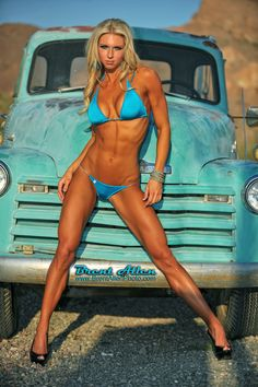 Holly Bricken She has to have great legs to go with the rest of that body!!