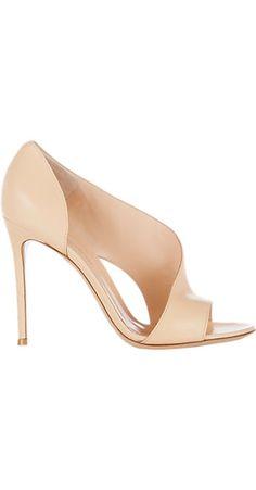 Gianvito Rossi Asymmetric Sandal - Sandals - Barneys.com