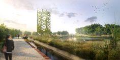 Galería de Rec Comtal, un proyecto paisajístico para restaurar el histórico canal de riego de Barcelona - 6