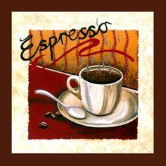 Imagem de Quadrinho de Cozinha Café Espresso