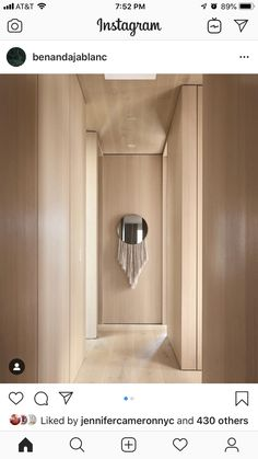 Womb Chair, Eero Saarinen, Contemporary Apartment, Eos, Door Handles, Wall Lights, Mirror, Space, San Francisco