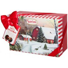 Sorini Box Joulumaisema 300g Flag, Box, Christmas, Xmas, Snare Drum, Navidad, Science, Noel, Natal