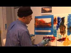 ▶ David Dunlop Two Minute Watercolor Part 2 - Program 101b - YouTube