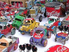 Things Made from Soda Cans - Cars and Toys!