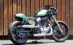 Harley Davidson XL1200V Cafe Racer by Nakano Shop #motorcycles #caferacer #motos | caferacerpasion.com