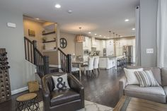 Main Level - Great open layout space that's perfect to entertain year round.