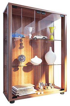 Glassteckvitrine Sicherheitsglas Glasvitrine Vitrine Glasregal Regal 83 x 83 cm