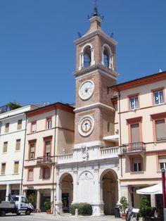 Piazza Tre Martiri, Rimini, Italy