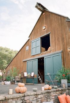 Fall rustic decor ideas- Atwood Ranch Barn
