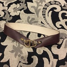 Dior genuine leather belt Used in perfect condition Dior Accessories Belts