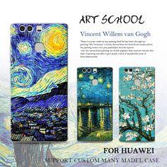 Aliexpress.com: Comprar Noche estrellada de van gogh diseño pintado case para huawei p9 plus p9 teléfono p8 lite mate 9 pro mate 8 7 case cubierta suave del silicón duro de caso s3 fiable proveedores en Suitu Digital Tech.
