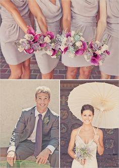 light purple bridesmaid dress