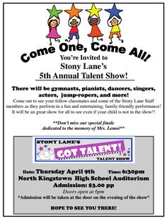 Image result for elementary school talent show rules