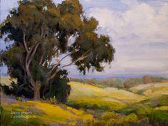 landscape impressionist art paintings | California impressionist painting - Landscape Oil Painting - Gaviota ...