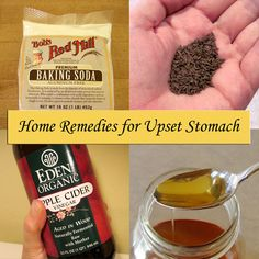 Home Remedies for Upset Stomach @ Common Sense Homesteading