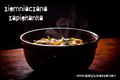 Blog kulinarny: Zapiekanka ziemniaczana. Najzwyklejsza.