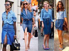 Aprenda a usar o look total jeans | Toque de Gata