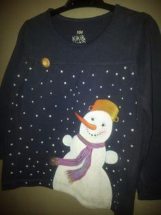 Mamííí, sněžíííí ! Christmas Sweaters, Fashion, Moda, Fashion Styles, Christmas Jumper Dress, Fashion Illustrations, Tacky Sweater