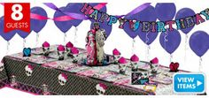 Click here to see all of the great Monster High party supplies from Party City!