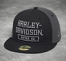 26c39ec2b9a Embroidered 59FIFTY® Cap Harley Davidson Hats