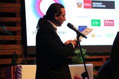 Javier Perla hablando en el Programa Nacional de Conservación de Bosques