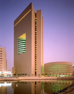 The late-Modern National Commercial Bank in Jeddah Saudi Arabia by Gordon Bunshaft/SOM. [800x1025] - see http://www.classybro.com/ for more!