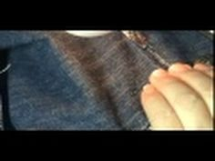Vídeo aula Trocar zíper calça jeans ( 2ª parte)