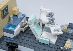 Lego Friends, Lego City, Legos, Lego Furniture, Minecraft Furniture, Lego Hospital, Lego Hacks, Construction Lego, Micro Lego