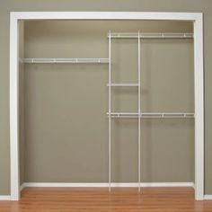 ClosetMaid 5-8 ft. Closet Organizer - Wire Closet Organizers at Hayneedle