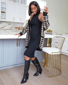 Have y'all checked out my collection yet? Kelly Rowland, Maternity Fashion, Kimono Top, Boots, Sweaters, Shopping, Collection, Dresses, People People
