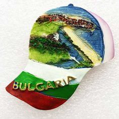 Hot Sale New Bulgarian Features Hat 3D Fridge Magnets Tourism Souvenirs Refrigerator Magnetic Stickers Home Decortion