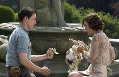 Cecilia Tallis (Keira Knightley), Robbie Turner (James McAvoy) ~ Atonement (2007) ~ Movie Stills