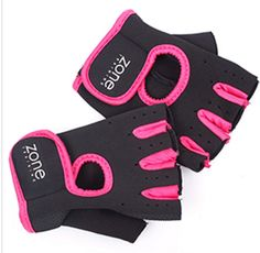 Womens Pink Weight Lifting Gloves