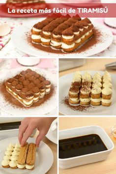 La receta más fácil de TIRAMISU Yummy Recipes, Baking Recipes, Cake Recipes, Dessert Recipes, Yummy Food, Easy Tiramisu Recipe, Tiramisu Cake, Best Cinnamon Rolls, Food Carving