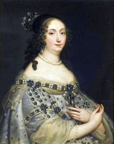 Justus van Egmont, Portrait of Louise Marie Gonzaga de Nevers, Queen of Poland, 1646 Marie Louise Gonzaga (known in Poland as Ludwika Maria; 18 August 1611 – 10 May was queen consort to two. Historical Costume, Historical Clothing, Female Clothing, Trianon Versailles, Jean Antoine Watteau, 17th Century Fashion, 18th Century, Queens Jewels, European Dress