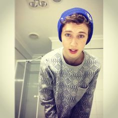 Troye Sivan, I know he is a youtuber. But he is technically an artist. I am very proud of him for the trxye album. I want the beenie for trxye for christmas.