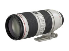EF 70-200mm f/2.8L IS II USM // This lens is great for shooting up close when you can't get as near as you want to get. It has the much needed image stabilization to help you remain sharp at 200mm. I use it all the time shooting conferences and through the window as I am driving.     http://www.bhphotovideo.com/c/product/680103-USA/Canon_2751B002_EF_70_200mm_f_2_8L_IS.html