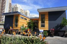 LivingHome C6 -- the first low-cost, zero energy, zero carbon, LEED Platinum family home available on the market. The stunning modern home, which rings in at just $179,000, is designed to appeal to small families and couples interested in a cozy house that is energy efficient, modern, and above all, affordable.