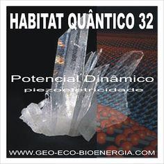 "ARQUITETURA /GEO- ECO-BIOENERGIA ""Biologia da Construção / Impacto Ambiental"": HABITAT QUÂNTICO 32 Potencial Dinâmico Piezoeletri..."