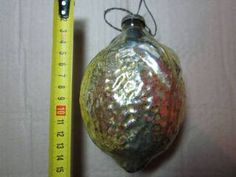Купить большая ёлочная игрушка лимон ( советы) на аукционе антиквариата Виолити auction.violity.com