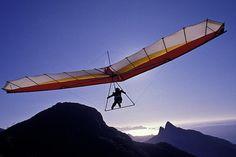 Hang-gliding Over Rio (Print) by BrazilPhotos Prints