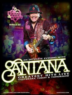 Santana Signs For Two More Years at Las Vegas' House of Blues