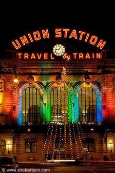 Union Station Christmas Lights, Denver