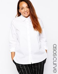 ASOS CURVE Girlfriend Shirt