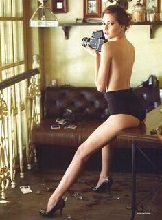 Idea for a boudoir session for a photographer ;)