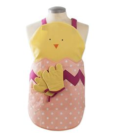 tag Easter Apron & Oven Mitt - Kids