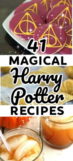 Harry Potter Food - These awesome Harry Potter recipes are perfect for any Harry Potter party or movie night. From cupcakes to butterbeer Hogwarts fans will love this Harry Potter themed food! Harry Potter Desserts, Harry Potter Treats, Harry Potter Food, Harry Potter Halloween, Theme Harry Potter, Harry Potter Christmas, Harry Potter Birthday, Harry Potter Butterbeer, Harry Potter Cupcakes